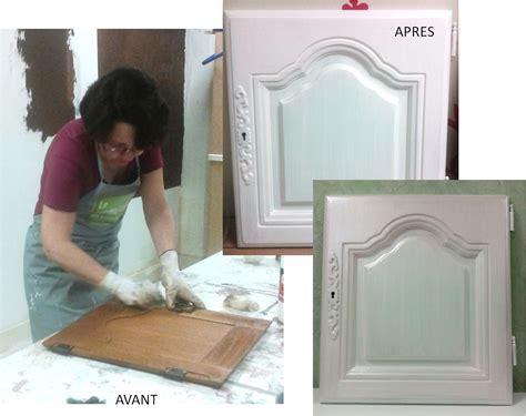 peinture porte de cuisine peinture sur meuble portes de cuisine vernis chêne foncé