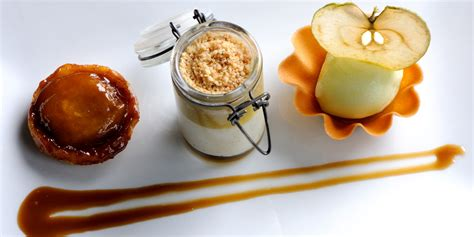 sweet assiette of apples great chefs