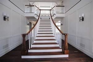 Escalier Bois Blanc : escalier 100 bois photos ~ Melissatoandfro.com Idées de Décoration