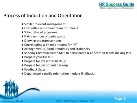induction  orientation