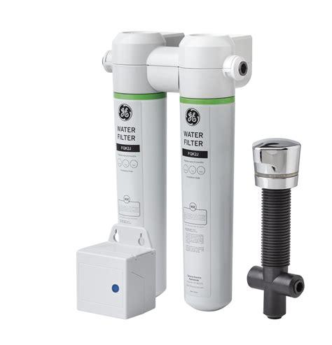 general electric gnkkbl twist  lock  counter dual flow water filtration system twist