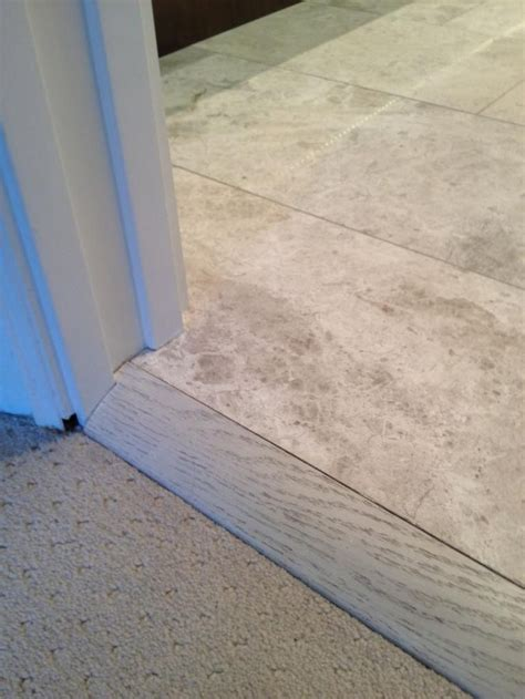 Ceramic Tile To Carpet Transition Strips by Best 25 Carpet To Tile Transition Ideas On