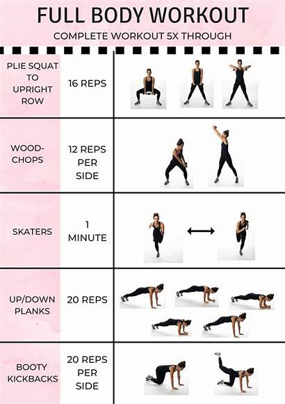 Workout Routines Move Workouts Printable Total Exercises