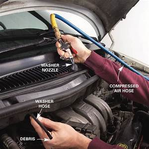 Windshield Washer Repair  How To Fix Your Window Washer