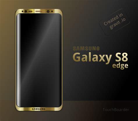 Galaxy S8 Edge Samsung Galaxy S8 Edge Gold By Hsigmond On Deviantart
