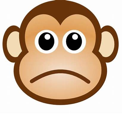Sad Monkey Clip Clker