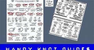4 Best Handy Knot Guides You Can Print  U0026 Practice Anywhere