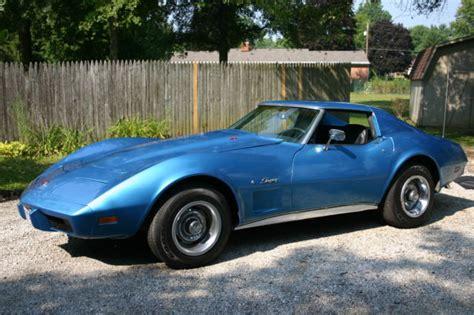 1975 chevy corvette stingray l48 original engine fresh paint classic chevrolet corvette 1975