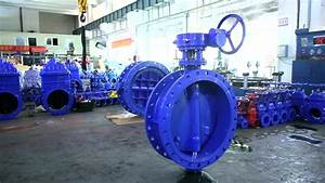 Iso 5752 Series 13 14 Double Eccentric Butterfly Valve