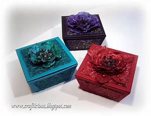 Crafticious  Free Template  Gift Boxes