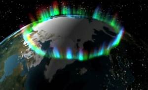 Monday's aurora from orbit; space station welcomes a ...