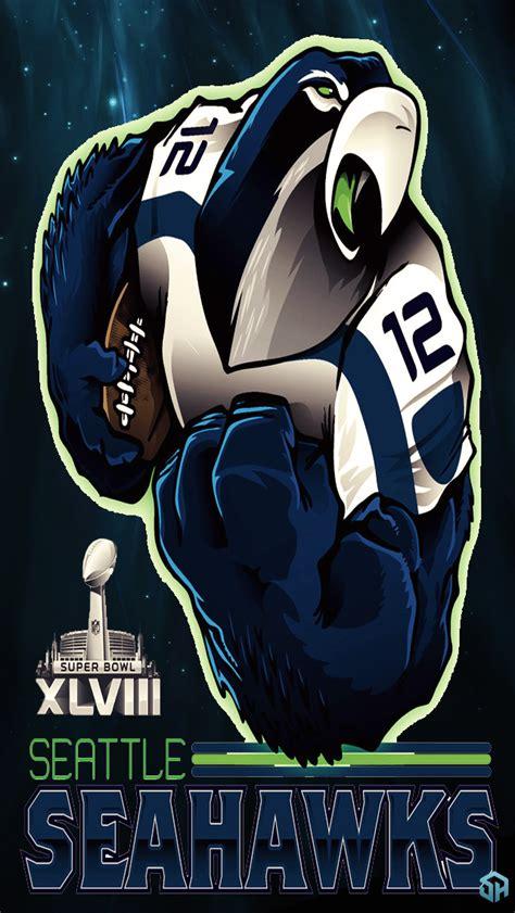 seahawks mascot  stealthyu  deviantart