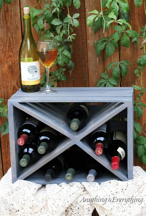 how to make a wine rack out of a pallet 15 creative diy wood crate projects you can do in a day
