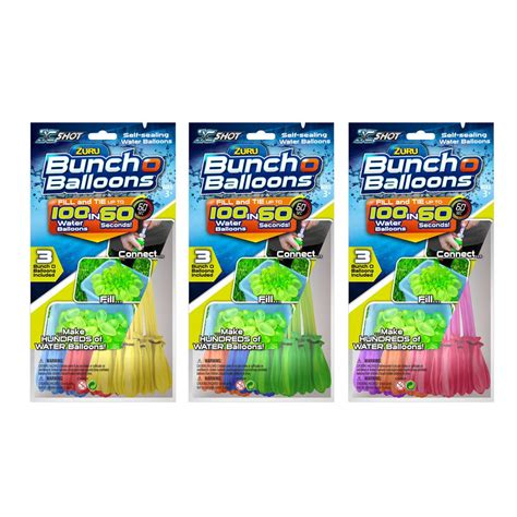 X Bunch O Balloons Blue zuru bunch o balloons 100 pack big w