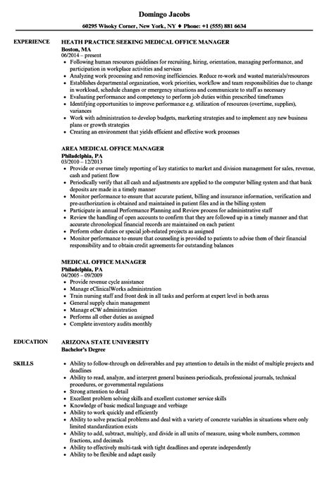 sample resume for office manager position office staff resume sample my resume samples madratco
