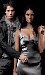 Delena | Elena Gilbert | Damon Salvatore....Damon's stare ...