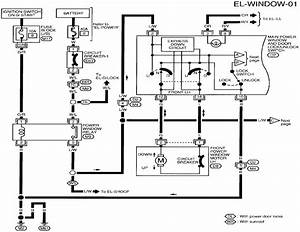 Need Wiring Schematic For 1998 Nissan Altima Power Windo