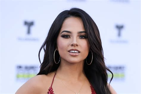 Becky G's Red-hot Dress Is All About Her Legs At Latin