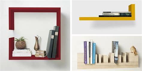 mensole per libri come rendere originale la propria libreria di casa con