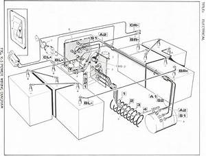 1989 Ezgo Marathon 36v Electric Motor Leg Identification
