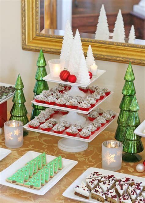 christmas dessert table decoration ideas