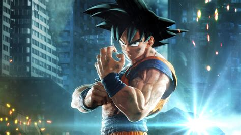 wallpaper goku jump force  games  wallpaper