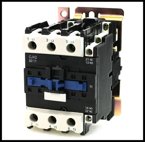 china factory supply cjx2 d5011 3 phase 220v 660v 50 60hz ac magnetic contactor