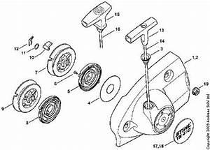 Stihl Wood Boss 028 Av Parts Diagram