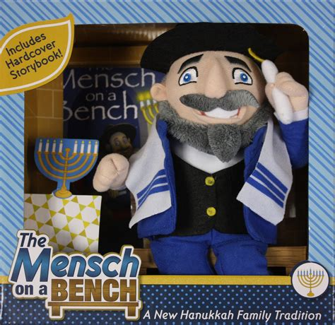 mench on a bench meet mensch on a bench counterpart to on the