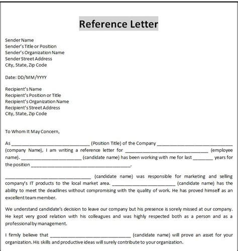 business letter template word word business letter template