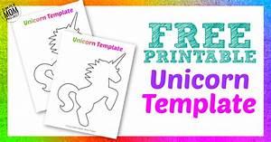 Free Printable Unicorn Template