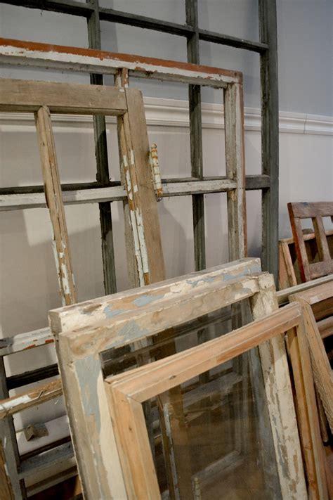 fenetre en bois vitrage fen 234 tre antique 224 carreaux us 233 es