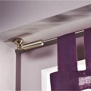 Fil Tringle Rideau : barre rideau fil fer ~ Premium-room.com Idées de Décoration