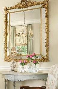 Grand Cadre Deco : grand miroir cadre dor id es de d coration int rieure french decor ~ Teatrodelosmanantiales.com Idées de Décoration