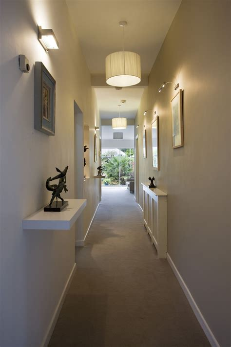 hallway wall sconces hallway sconce lighting hallway illuminated with drum