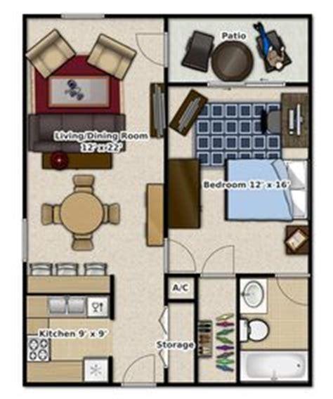 studio apartments floor plan  square feet location