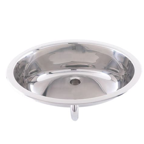 stainless kitchen sinks drop in decolav simply stainless drop in bathroom sink in 8224