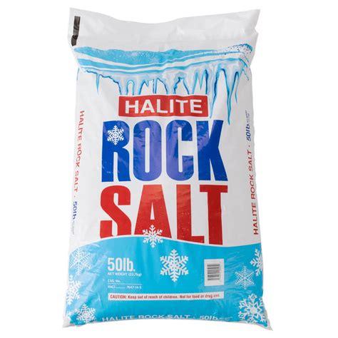shop sinks and faucets the cope company salt 50 lb bag of halite rock salt