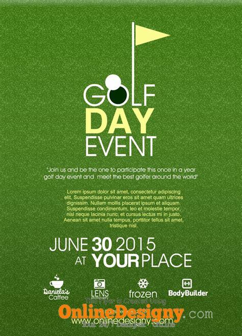 designing  golf tournament flyer bing images golf