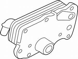 Jaguar Xe Engine Oil Cooler  Bearing  Main  Vin