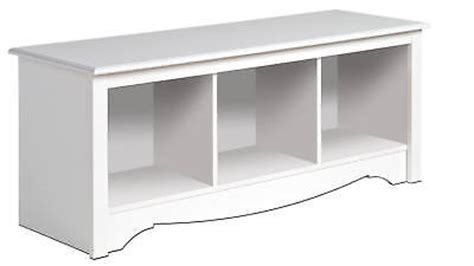 ancien bureau d 馗olier white prepac large cubbie bench 4820 storage usd 114 99 end date wednesday feb 26 2014 11 49