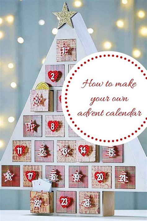 how to make advent calendar diy christmas advent calendar how to make your own homemade festive calendar in 3 easy steps