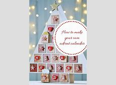 How to make your own Christmas advent calendar in 3 easy