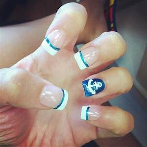 Anchor nails just in time for the summer #springtime # ...