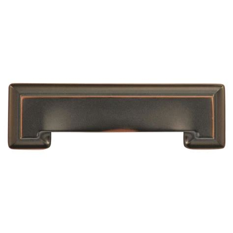 cabinet and drawer pulls shop hickory hardware 3 in and 96mm center to center oil
