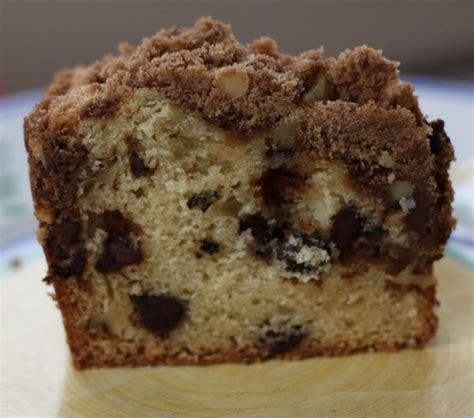 Chocolate chip sour cream coffee cake. Chocolate Chip Sour Cream Coffee Cake