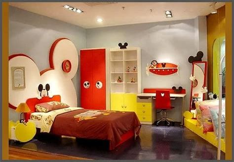 mickey mouse bedroom for the home