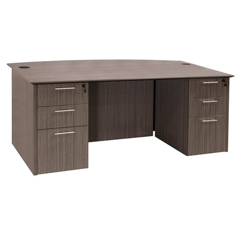 what is a double pedestal desk catalina laminate straight double pedestal desk drift