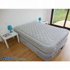 Matelas Intex 2 Personnes : matelas lit gonflable intex supreme bed fiber tech 2 places ~ Melissatoandfro.com Idées de Décoration