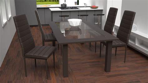 chaise monsieur meuble tectake chaises de salle à manger ou de cuisine design